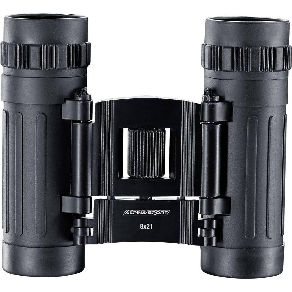 Dalekozor Alpina sportski dalekozor outdoor komplet 8 x 21 mm crna