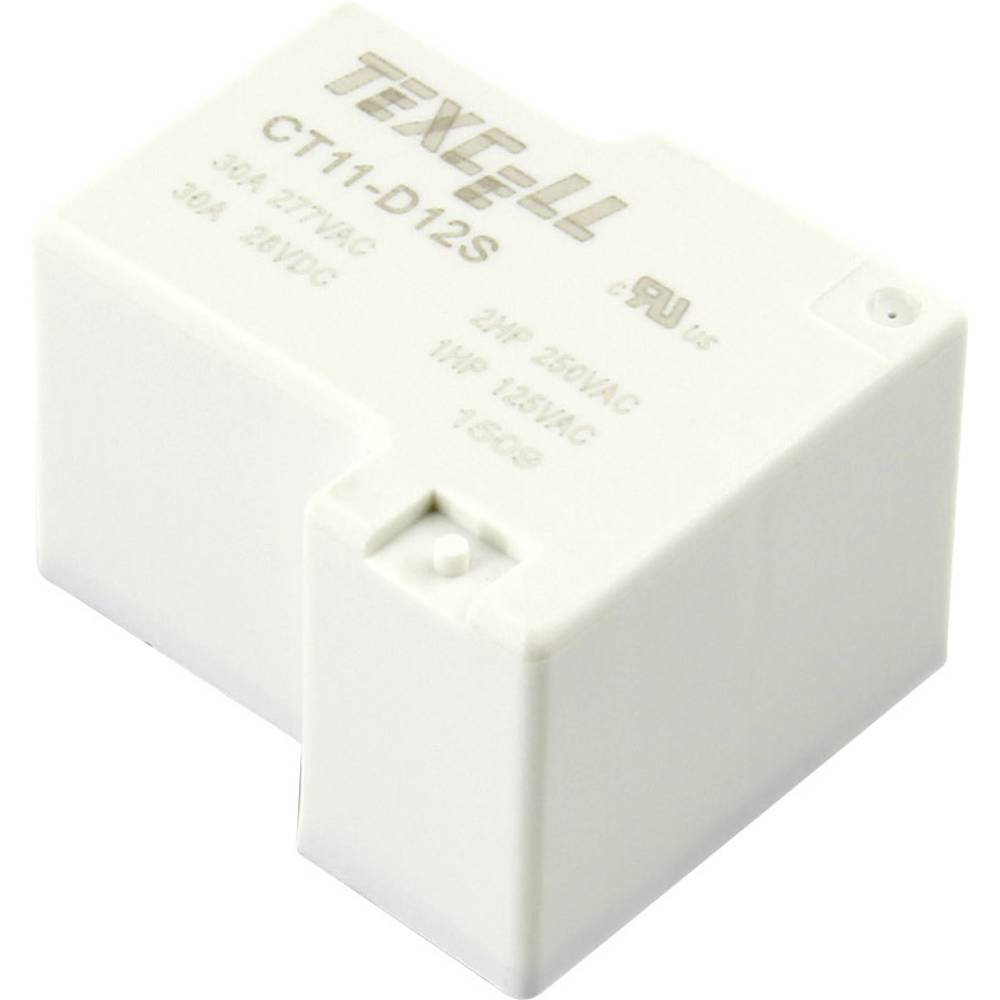 Rele za tiskana vezja 12 V/DC 40 A 1 zapiralni Texcell CT11-D12S 1 kos