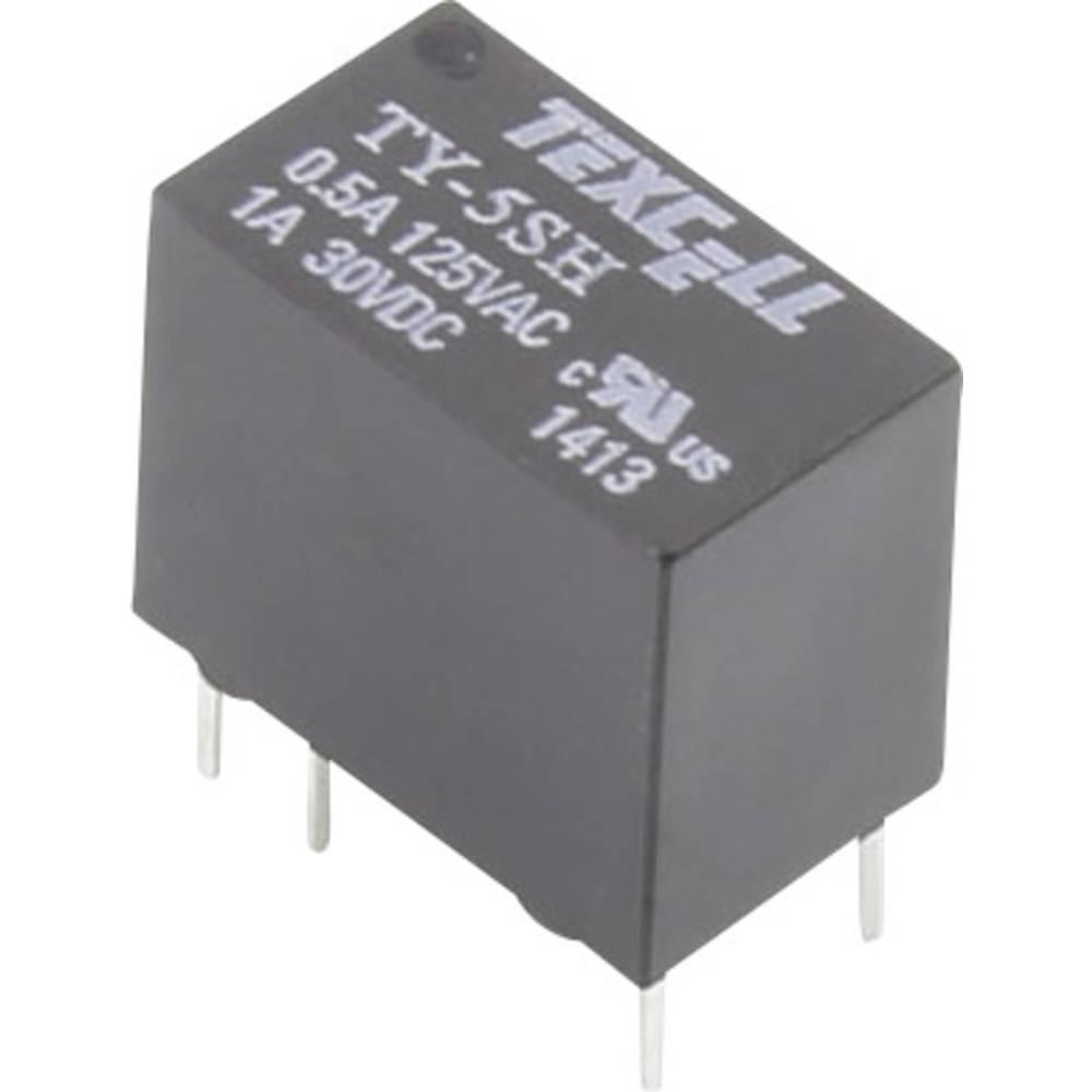 Relej za tiskanu pločicu 5 V/DC 2 A 1 preklopni Texcell TY-5SH 1 kom.