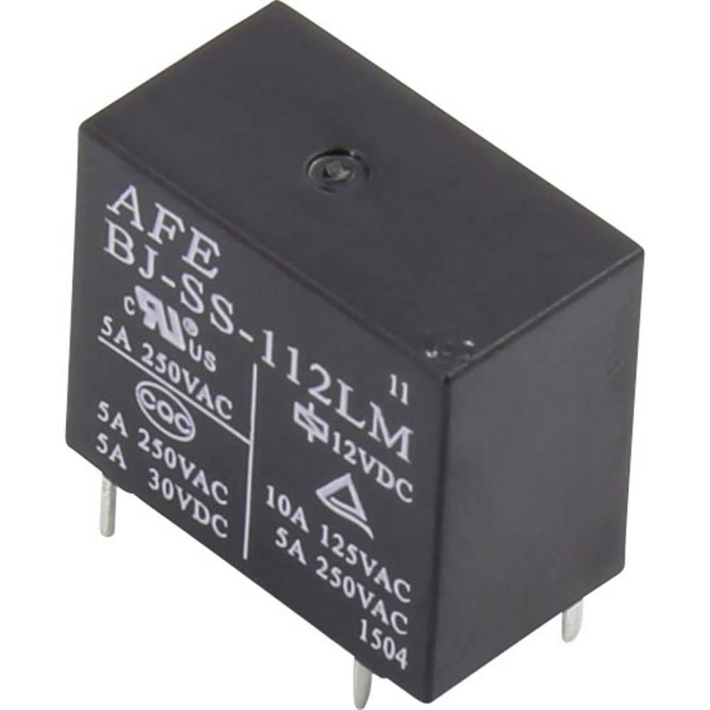 Printrelais (value.1292897) 5 V/DC 10 A 1 Schließer (value.1345270) AFE BJ-SS-105LM 1 stk