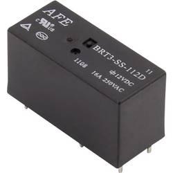 Rele za tiskana vezja 12 V/DC 16 A 1 preklopni AFE BRT3-SS-112D 1 kos