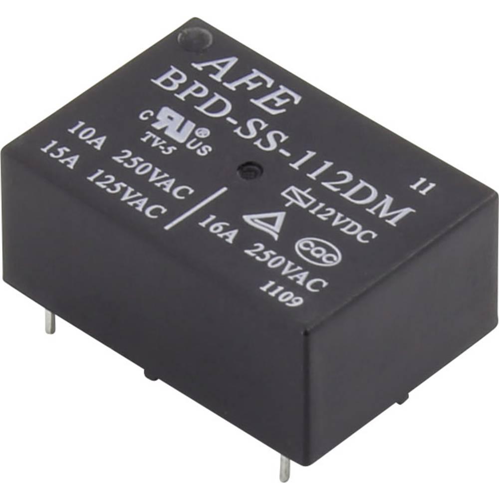 Printrelais (value.1292897) 12 V/DC 16 A 1 Schließer (value.1345270) AFE BPD-SS-112DM 1 stk