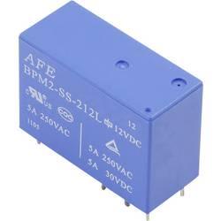Rele za tiskana vezja 12 V/DC 5 A 2 preklopni AFE BPM2-SS-212L 1 kos