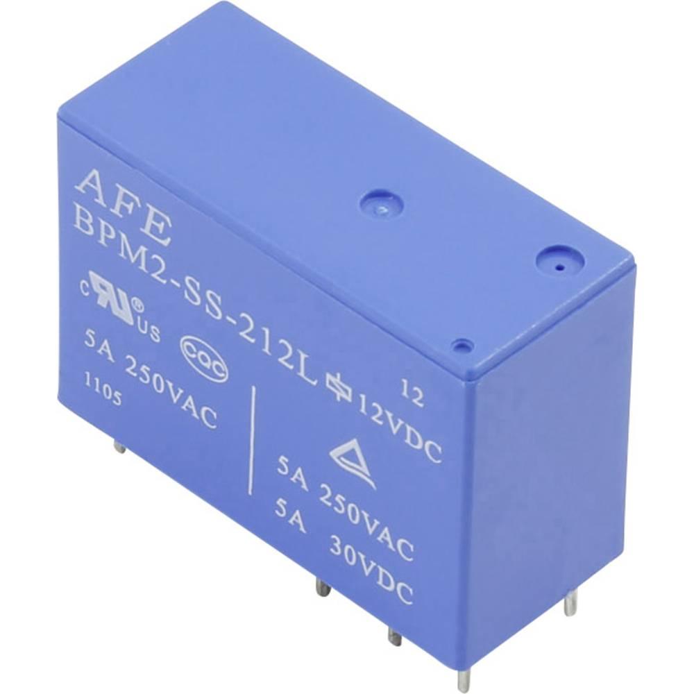 Printrelæ 5 V/DC 5 A 2 x omskifter AFE BPM2 SS 205L 1 stk