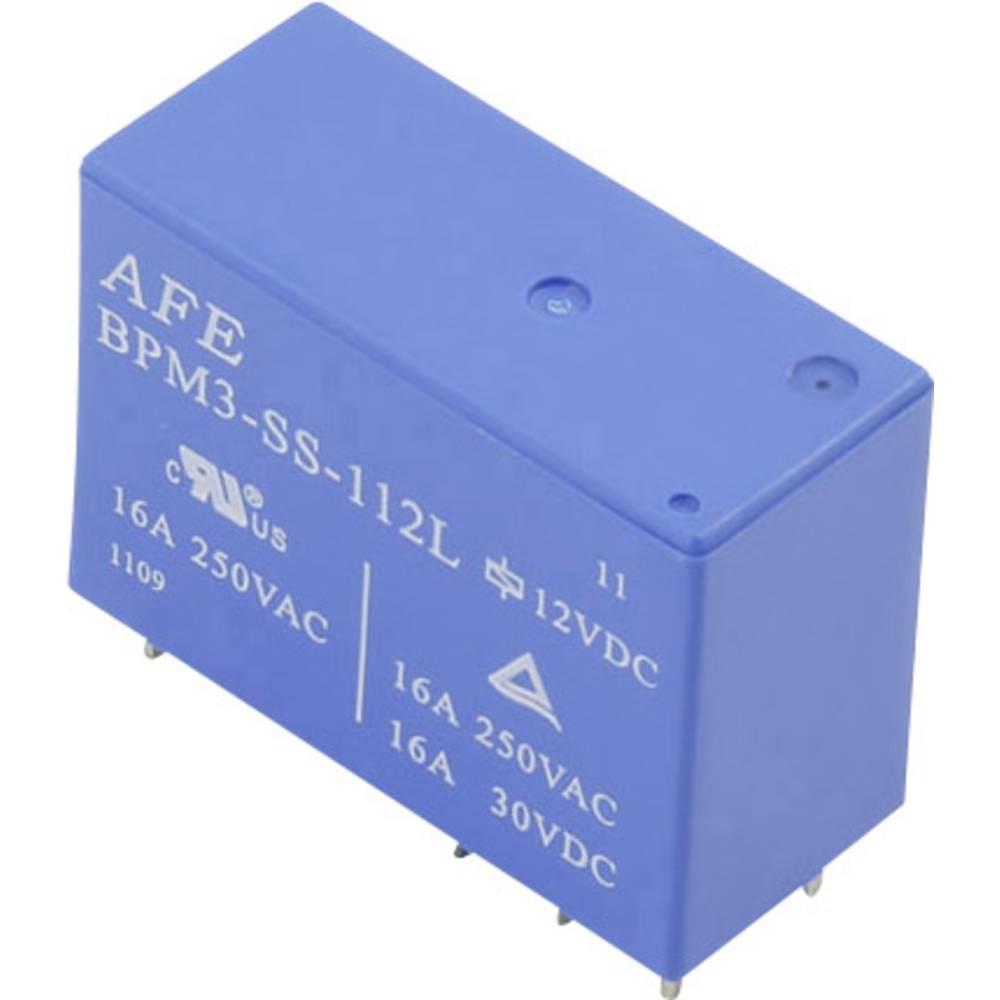Relej za tiskanu pločicu 12 V/DC 16 A 1 preklopni AFE BPM3-SS-112L 1 kom.