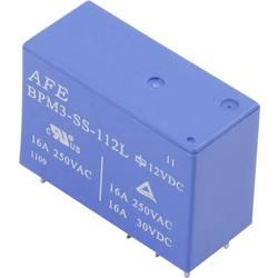 Rele za tiskana vezja 12 V/DC 16 A 1 preklopni AFE BPM3-SS-112L 1 kos