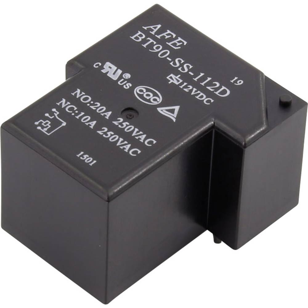 Printrelais (value.1292897) 12 V/DC 20 A 1 Wechsler (value.1345271) AFE BT90-SS-112D 1 stk