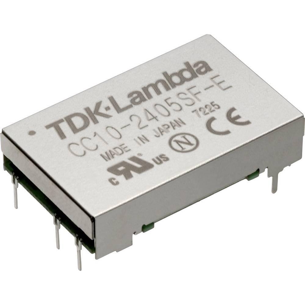 DC/DC pretvornik za tiskano vezje TDK-Lambda CC-10-2403SF-E 24 V/DC 3.3 V/DC 2.5 A 10 W št. izhodov: 1 x