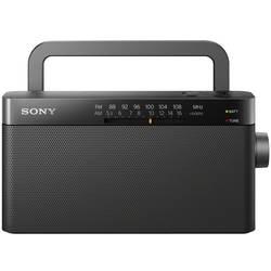 Sony ICF-306, potovalni radio, UKW, MW, črne barve