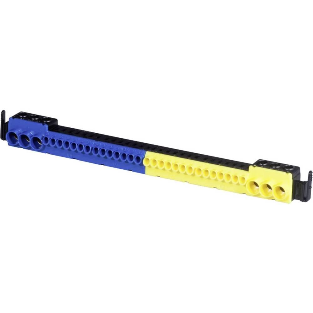 Vtični terminal Modra, Rumena Vrste vodnikov = N, PE F-Tronic 9910010