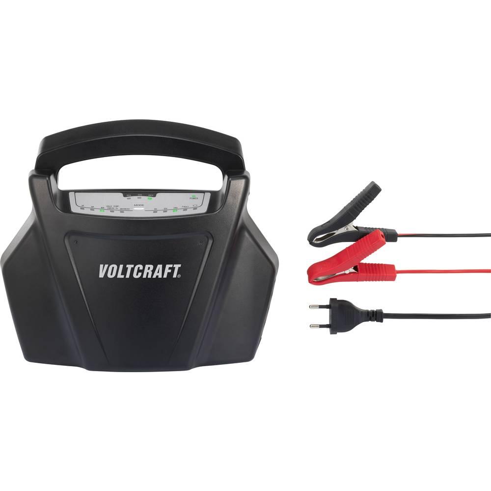 VOLTCRAFT polnilnik za svinčene akumulatorje BC-10 6 V, 12 V, 24 V svinčevi, svinčevo-koprenasti