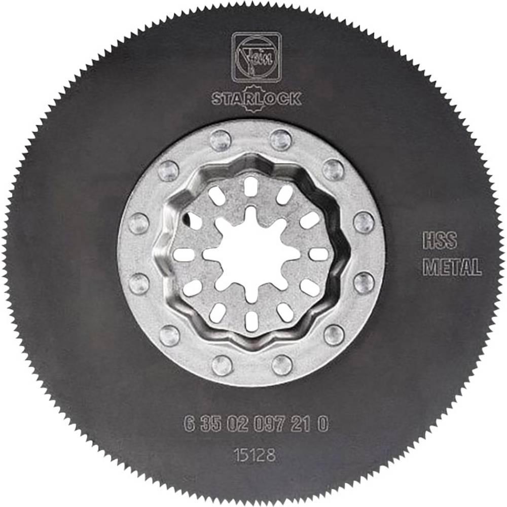 HSS Cirkelsågklinga Plåt, Plast, Trä, Icke-järnmetaller Fein MultiMaster, SuperCut Hel 85 mm 5 st