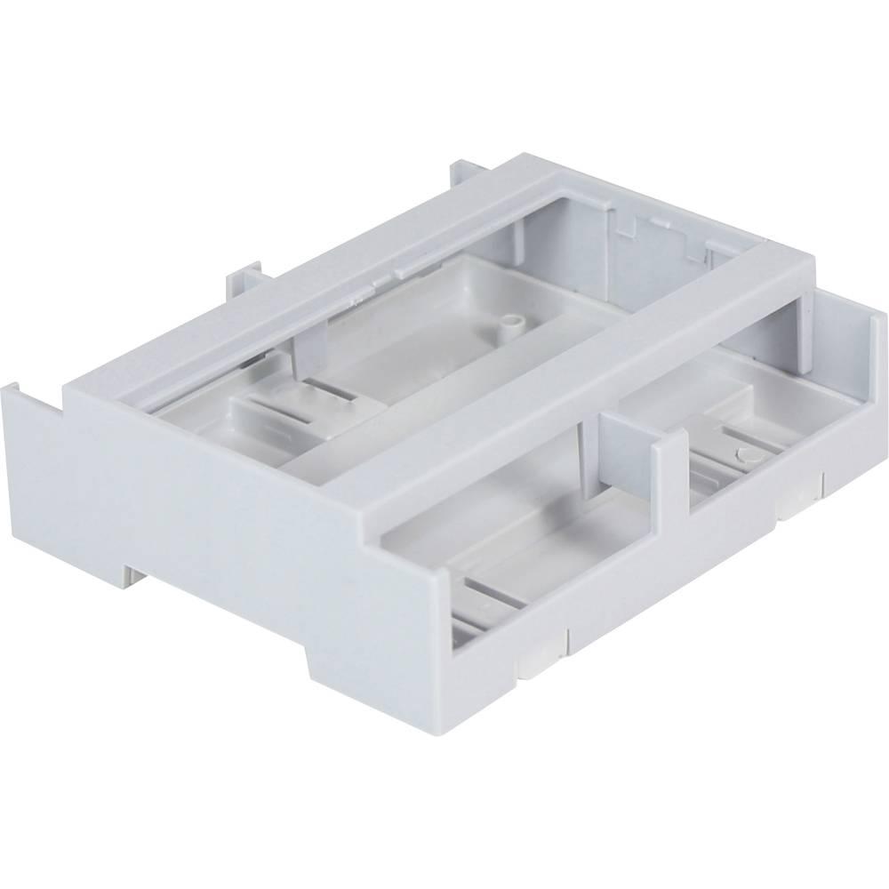 DIN-skinnekabinet Axxatronic CDIB/6/L2-KIT-CON 106.2 x 100 x 31.9 Polycarbonat Grå 1 stk