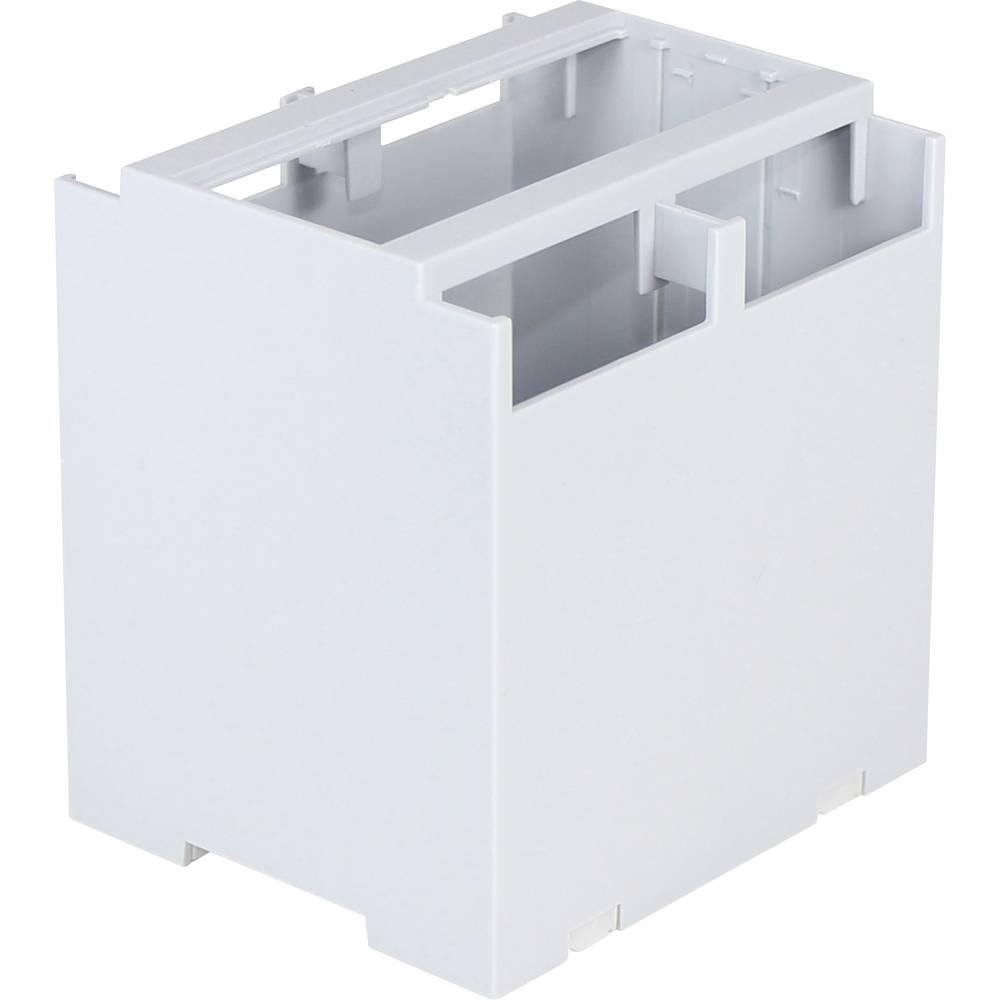 DIN-skinnekabinet Axxatronic CDIB/6/D2-KIT-CON 106.2 x 100 x 114.05 Polycarbonat Grå 1 stk