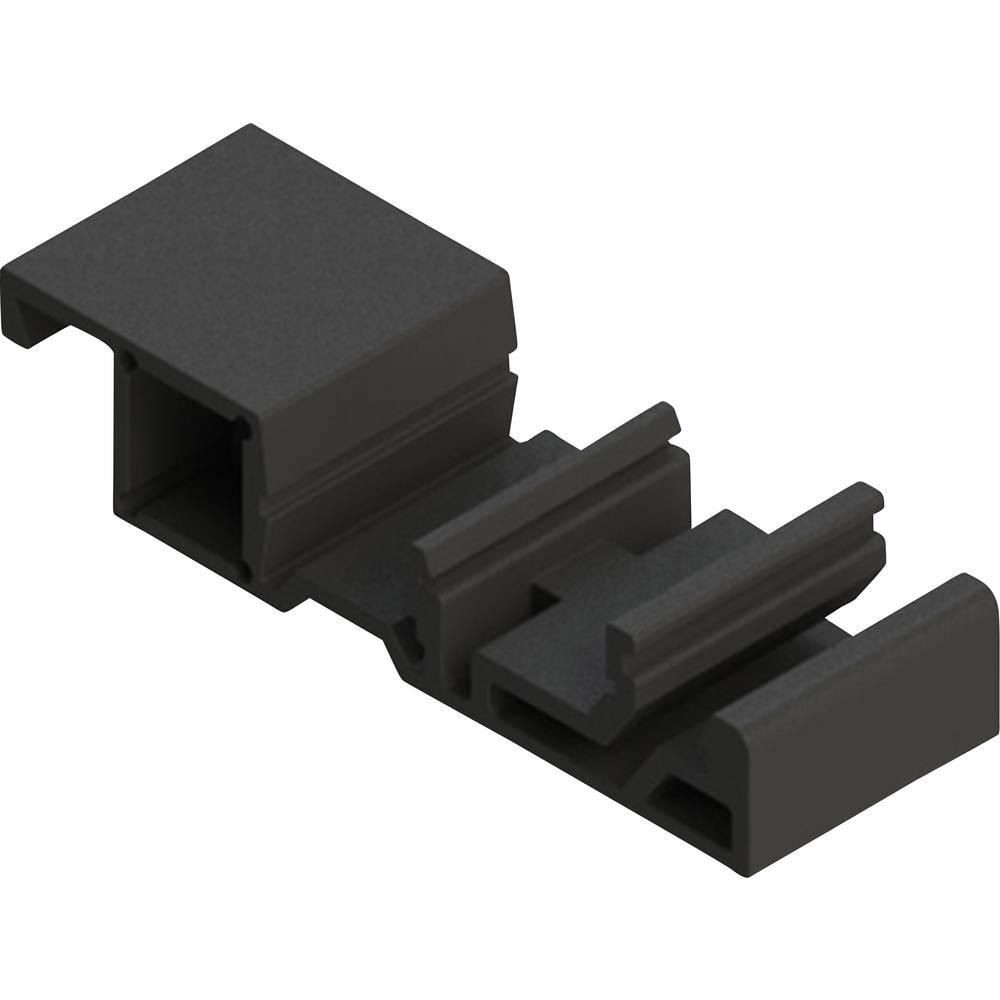 Fastgørelseselement Axxatronic CDR-BRACKET-CON CDR-BRACKET-CON Sort (L x B x H) 59.65 x 20 x 12.75 mm 1 stk