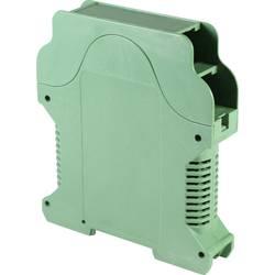 DIN-skinnekabinet Axxatronic CVB-PLUS1V-CON med ventilationsslids 112 x 99 x 22.5 Polyamid Grøn 1 stk