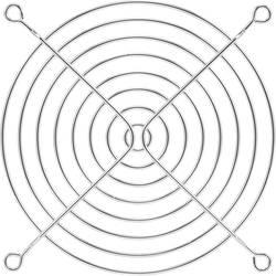 Zaščitna mrežica za ventilator 1 kos PROFAN Technology (Š x V) 120 mm x 120 mm kromirana kovina