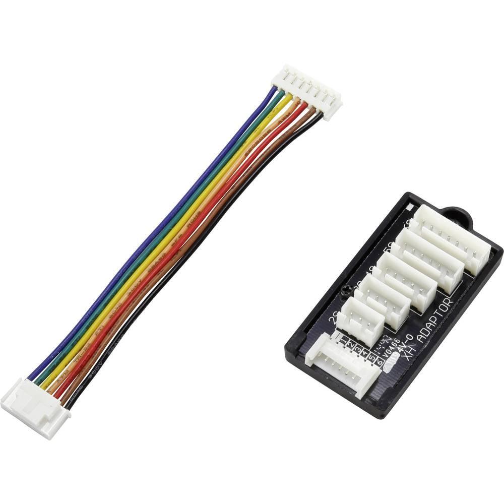 LiPo uravnalni adapter, izvedba polnilnika: EH izvedba akumulatorja: XH primeren za celice: 2 - 6 VOLTCRAFT