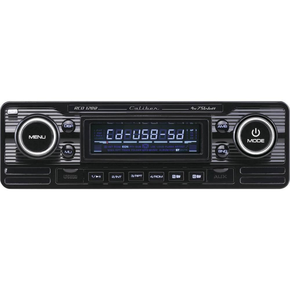 Bilradio Caliber Audio Technology RCD-120B Retro design