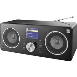 Internet Bordsradio Dual Radio Station IR 8S DLNA-kompatibel, Spotify-connect Svart