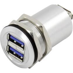 TRU COMPONENTS USB-14 USB 3.0 Sølv 1 stk