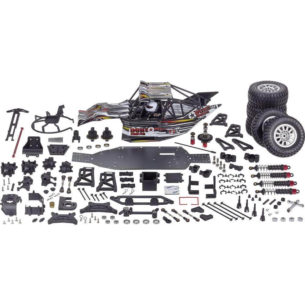 Reely Dune Fighter 1:10 RC model avtomobila na daljinsko vodenje, Buggy, pogon na vsa kolesa, komplet za sestavljanje