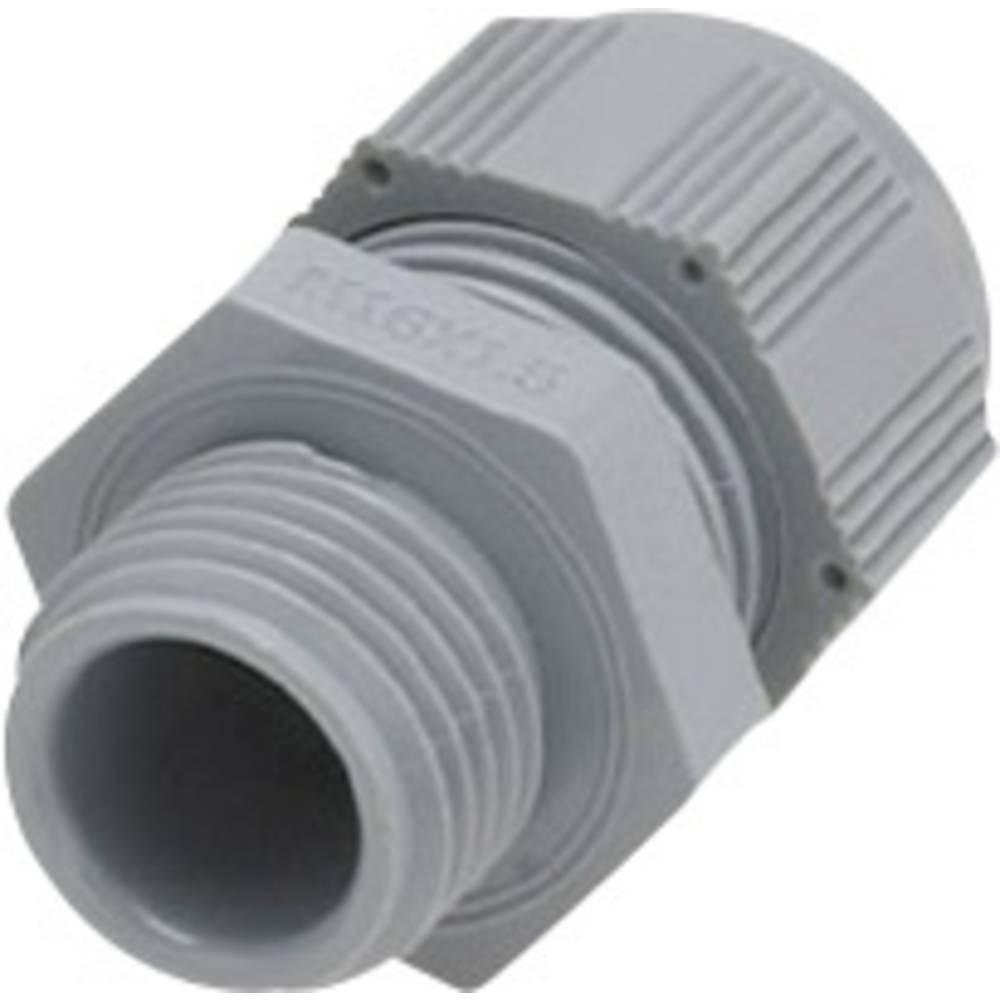 Kabelforskruning Helukabel HT 93929 M50 Polyamid Sølvgrå (RAL 7001) 1 stk
