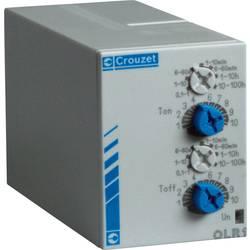 Tidsrelæ Crouzet PU2R1 Multifunktionel 0.1 s - 100 h 2 x omskifter 1 stk