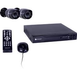 Nadzorni komplet Smartwares 4-kanalni z 2 kamerami 500 GB 10.036.88