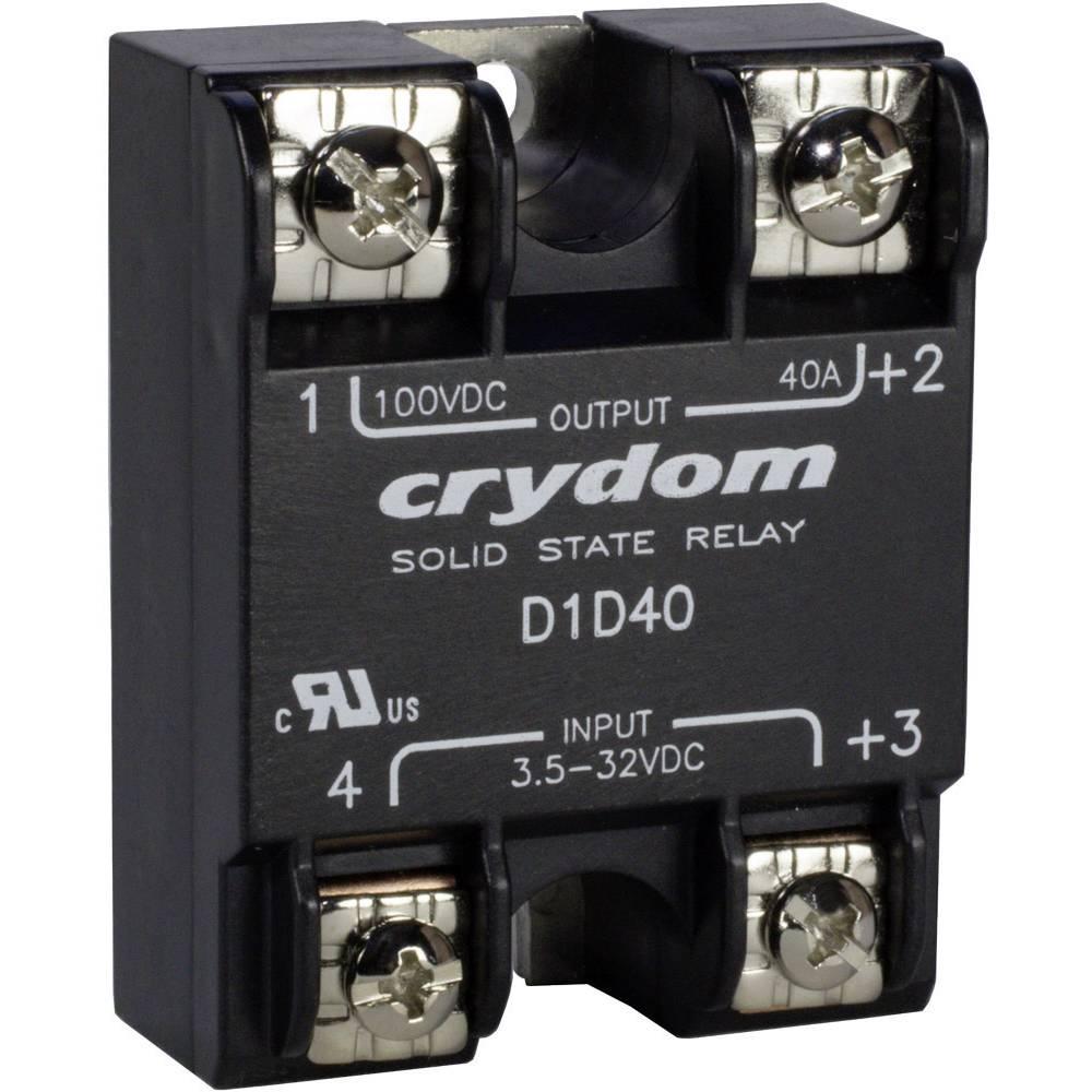 Halbleiterrelais (value.1292894) 1 stk Crydom D1D07 Last-Strøm (maks.): 7 A Koblingsspænding (max.): 100 V/DC