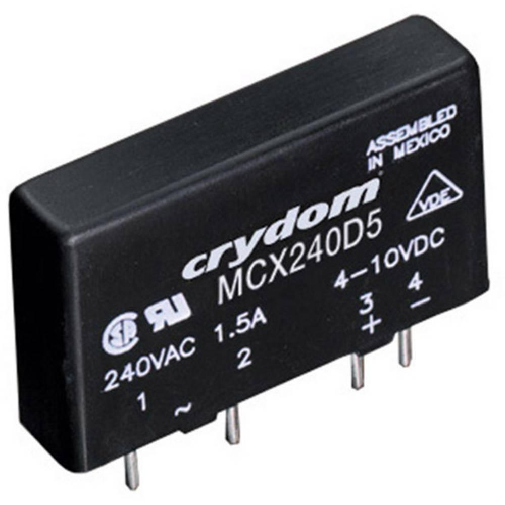Halvlederrelæ 1 stk Crydom MCX380D5 Last-Strøm (maks.): 5 A Koblingsspænding (max.): 530 V/AC Vekslende ved nulspænding