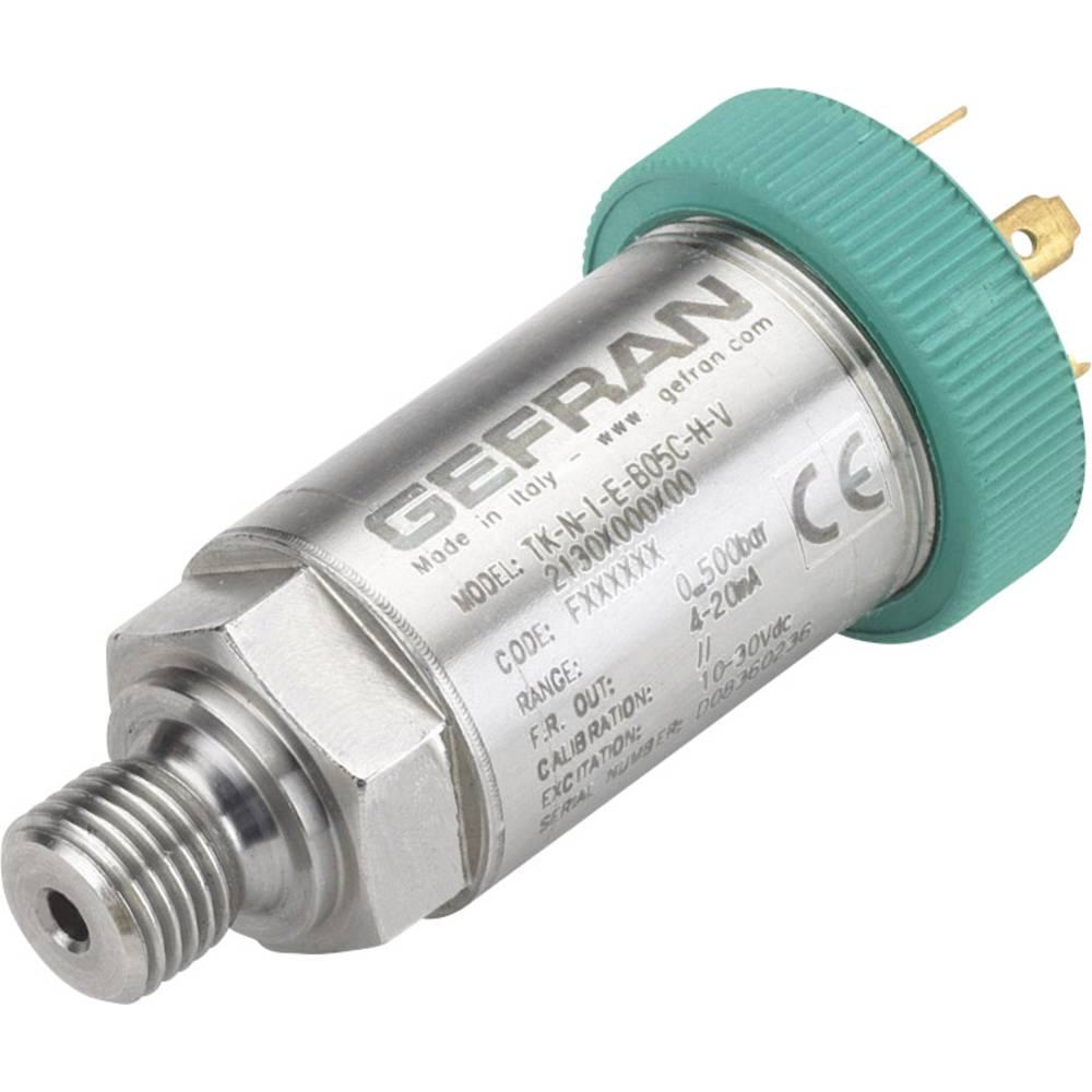 Senzor tlaka Gefran TK-N-1-Z-B25D-M-V 0 bara do 250 bara M12, 4-polni