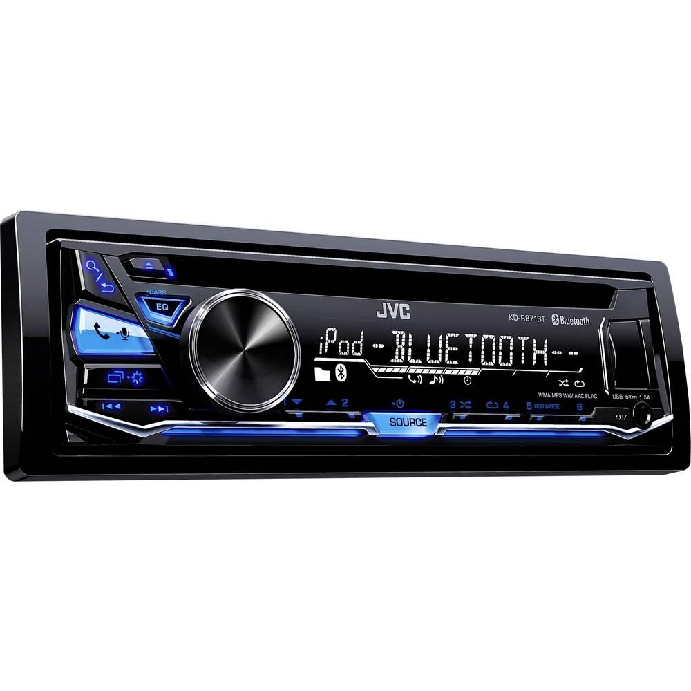 Bilradio JVC KD-R871BT Tilslutning til ratbetjening, Håndfrit Bluetooth®-system