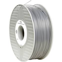 3D-skrivare Filament Verbatim 55275 PLA-plast 1.75 mm Silver-metallic (matt) 1 kg