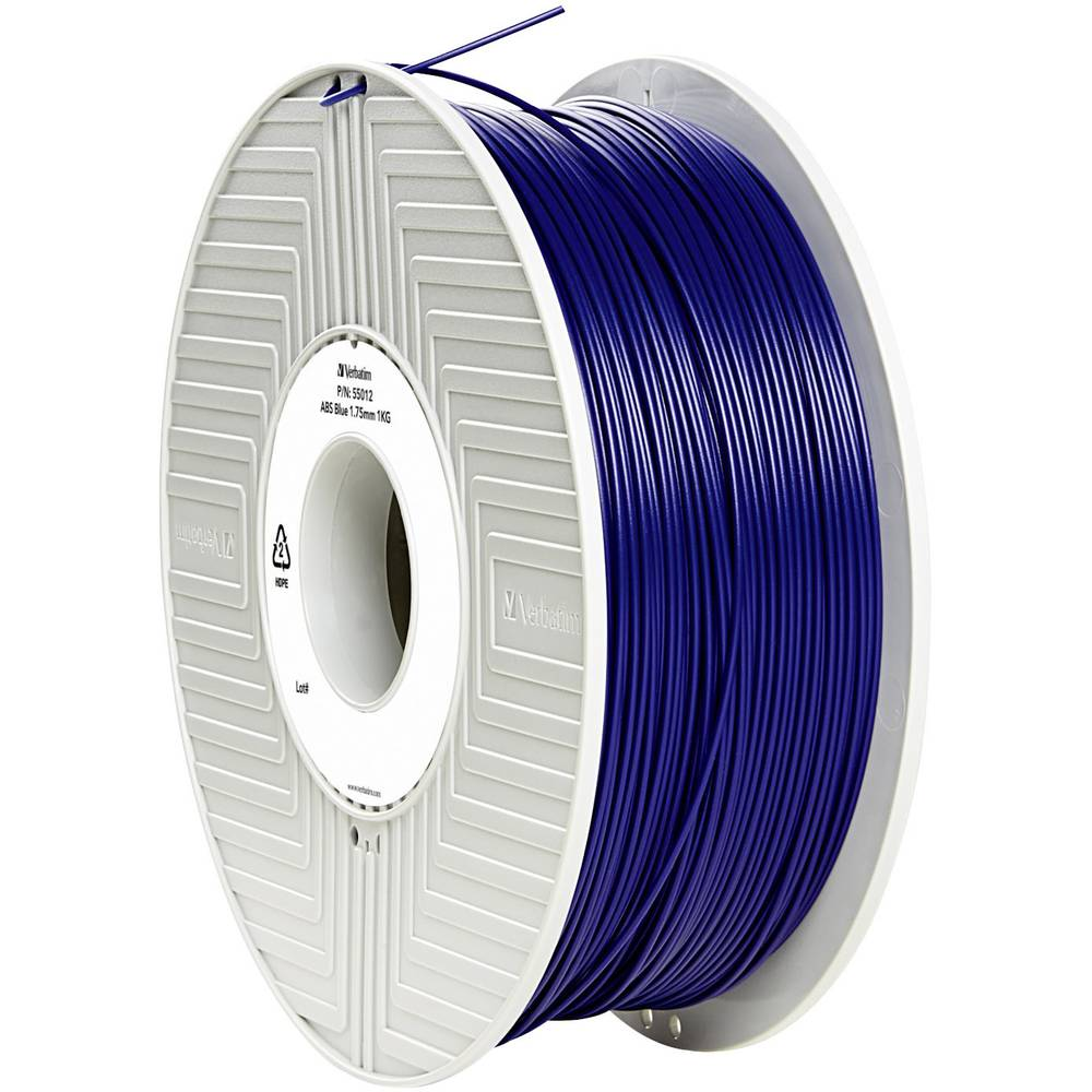 Filament Verbatim 55012 ABS 1.75 mm modre barve 1 kg