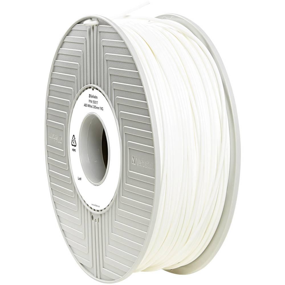 Filament Verbatim 55017 ABS 2.85 mm bele barve 1 kg