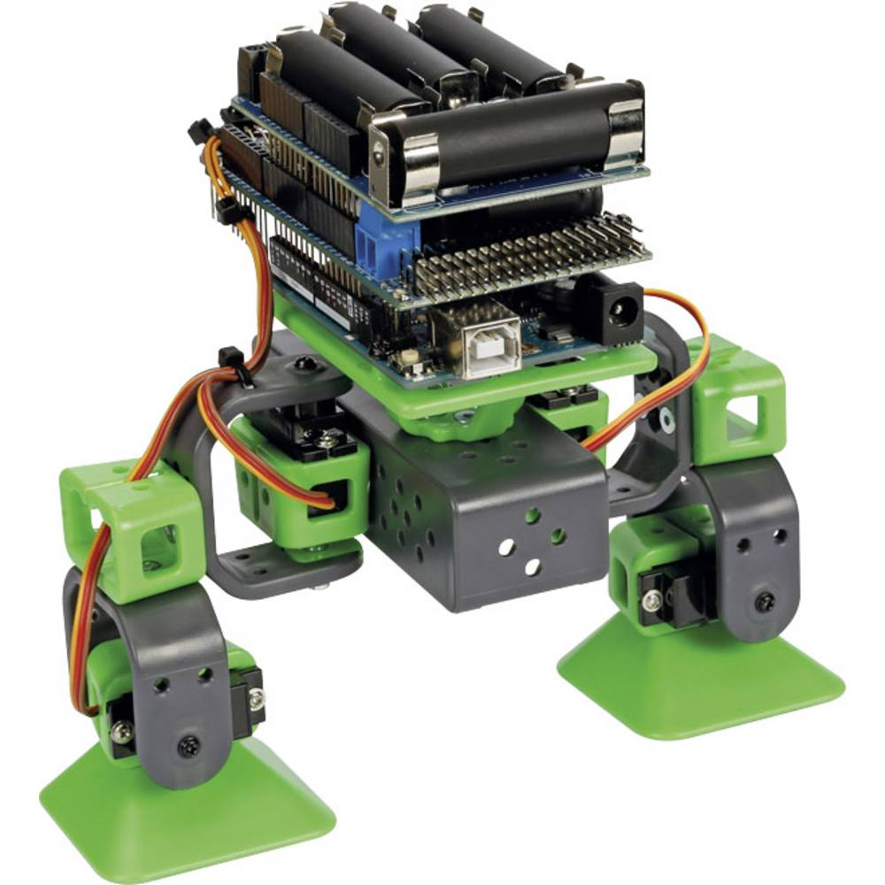 Robot VR204 ALLBOT® Velleman komplet za sastavljanje s dvije noge, izvedba (komplet za sastavljanje/ugradbeni element): komp