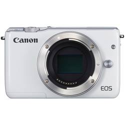 Systemkamera Canon EOS M10 Hus 18 MPix Vit Touch-Screen, Full HD Video