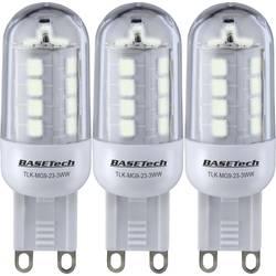 LED Stiftform G9 Basetech 3 W 265 lm A+ Varmvit 3 st