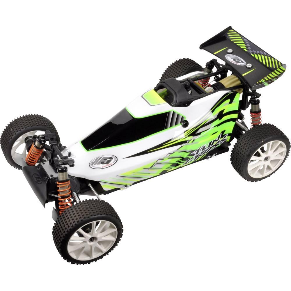 FG Modellsport Fun Cross 1:6 RC model avtomobila na bencinski pogon, Buggy pogon na vsa kolesa RtR 2,4 GHz