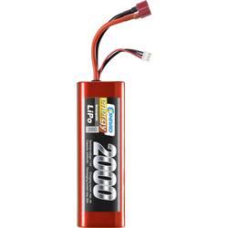 Modelbyggeri-batteripakke (LiPo) 7.4 V 2000 mAh Celletal: 2 20 C Conrad energy Hardcase T-tilslutning