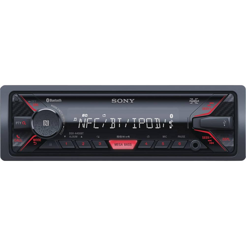 Bilradio Sony DSX-A400BT Tilslutning til ratbetjening, Håndfrit Bluetooth®-system