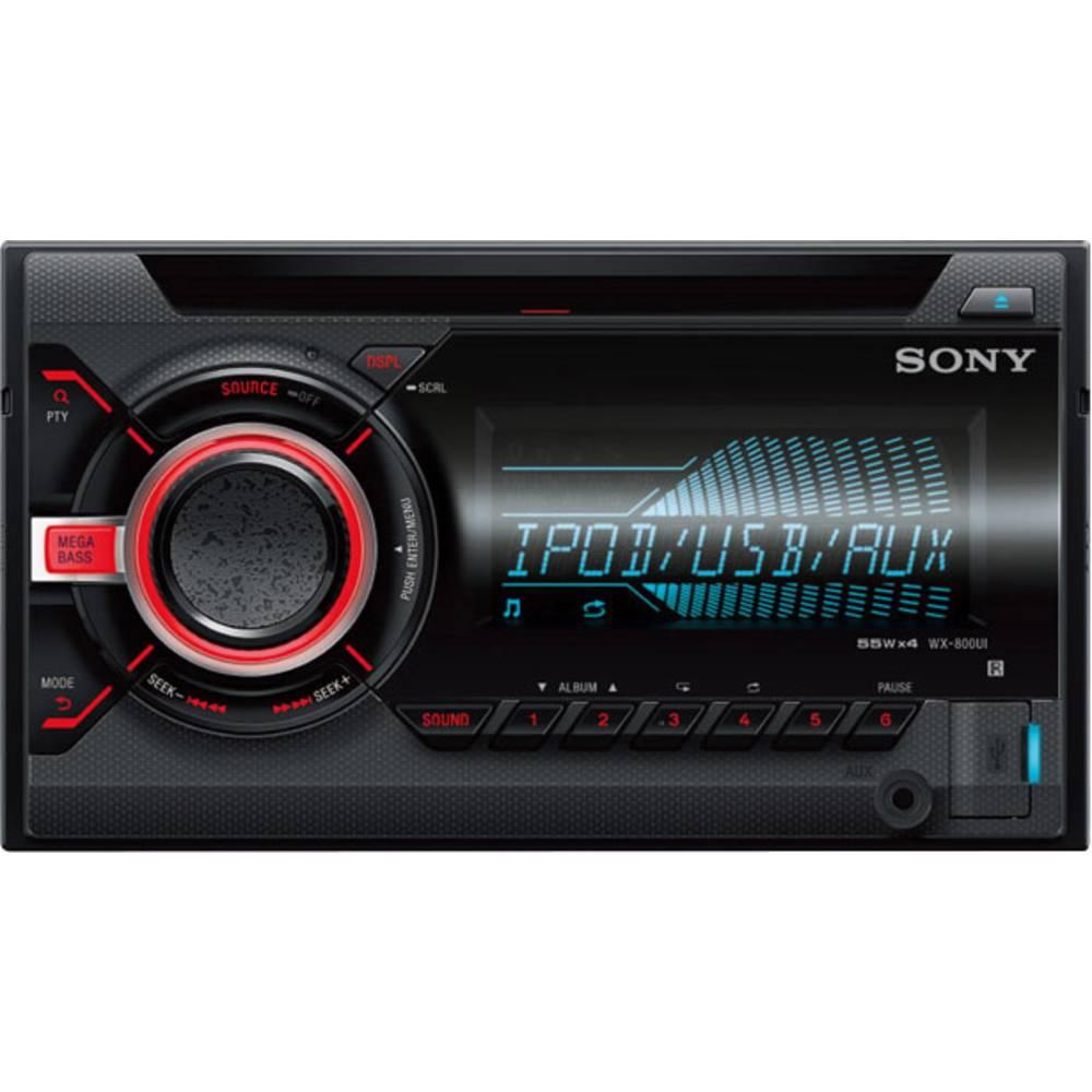 Dobbelt-DIN-bilradio Sony WX-800UI