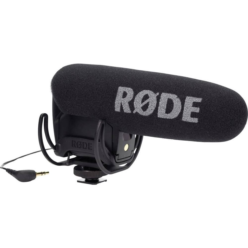 Pripenjalni mikrofon za kamero RODE, vsebuje kabel, sponko in vetrobran