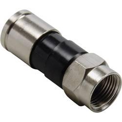 F-kompresijski vtični konektor, premer kabla: 7.4 mm