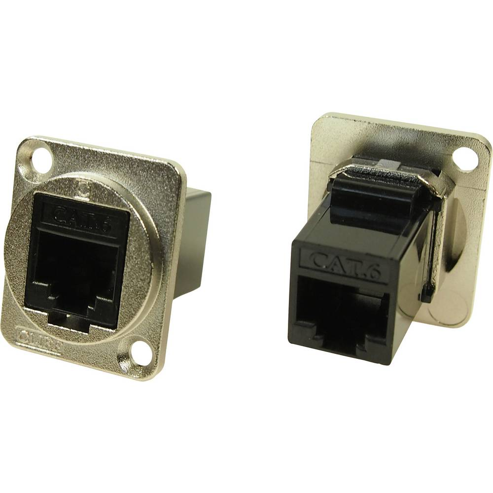 Cliff CP30222M RJ45 Cat6 Nickel 1 st