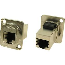 Skärmad Cliff CP30222SM RJ45 Cat6 Nickel 1 st