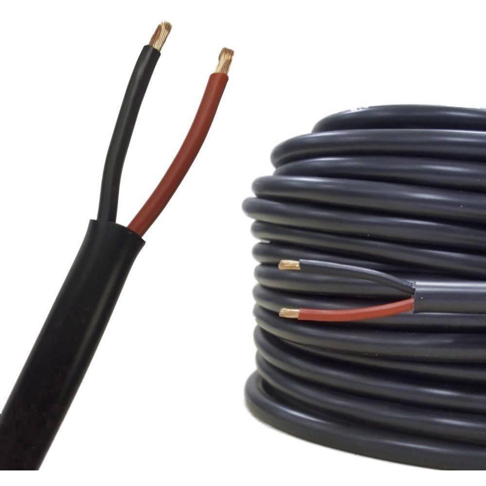 Kabel za zvočnik FLRYY 2 x 0.75 mm Rot, črna AIV 23312A metrski