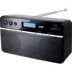 DAB+ Bærbar radio Renkforce NE-6210 Sort