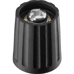 Vrtljivi gumb, crne boje (promjer x V) 13 mm x 15.5 mm Ritel 26 13 40 3 1 kom.